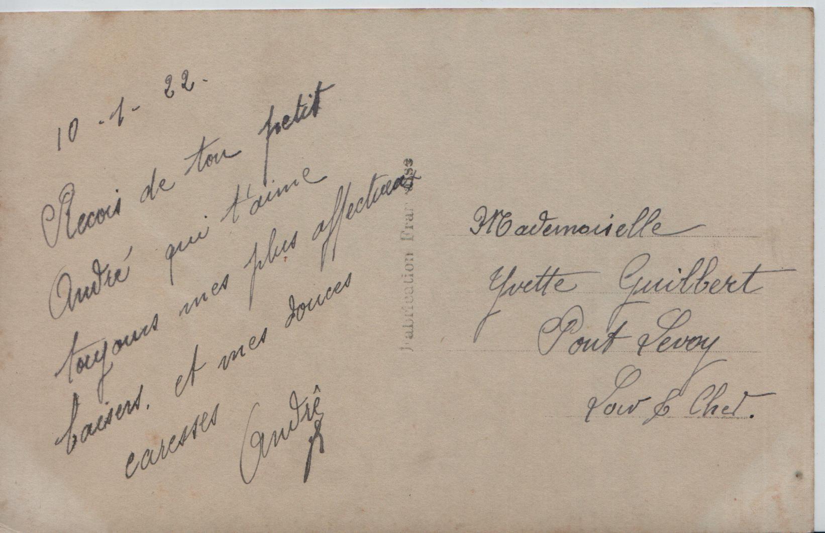 31. 10th January 1922