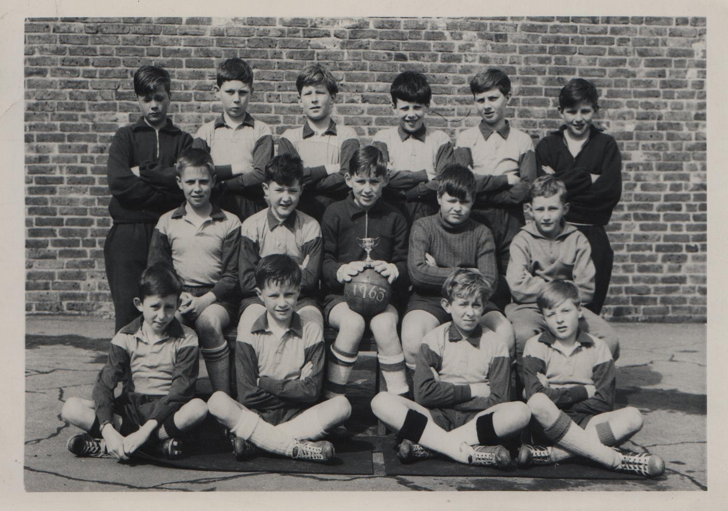 Hamstel Road school football team 1963