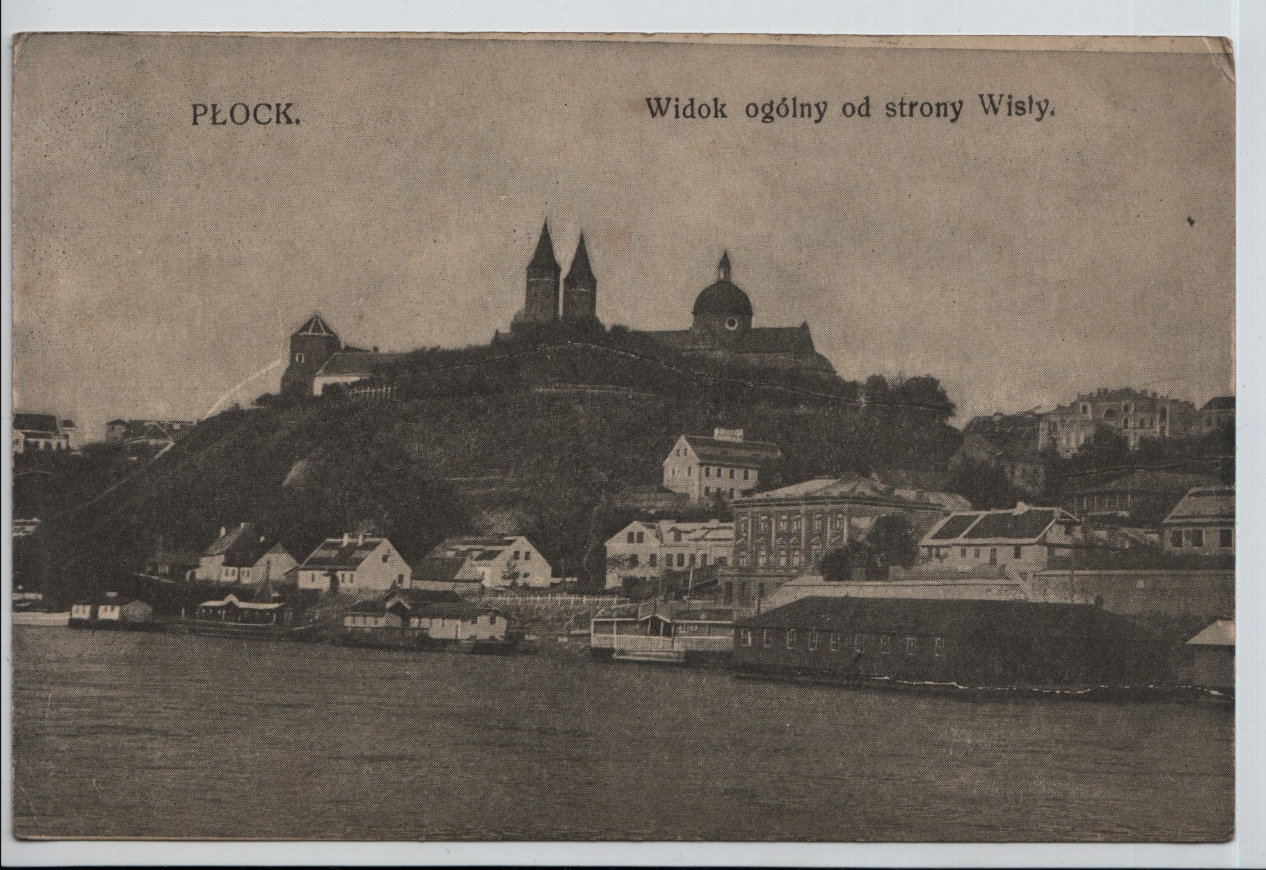 6 General view of the Wisly river at Plock