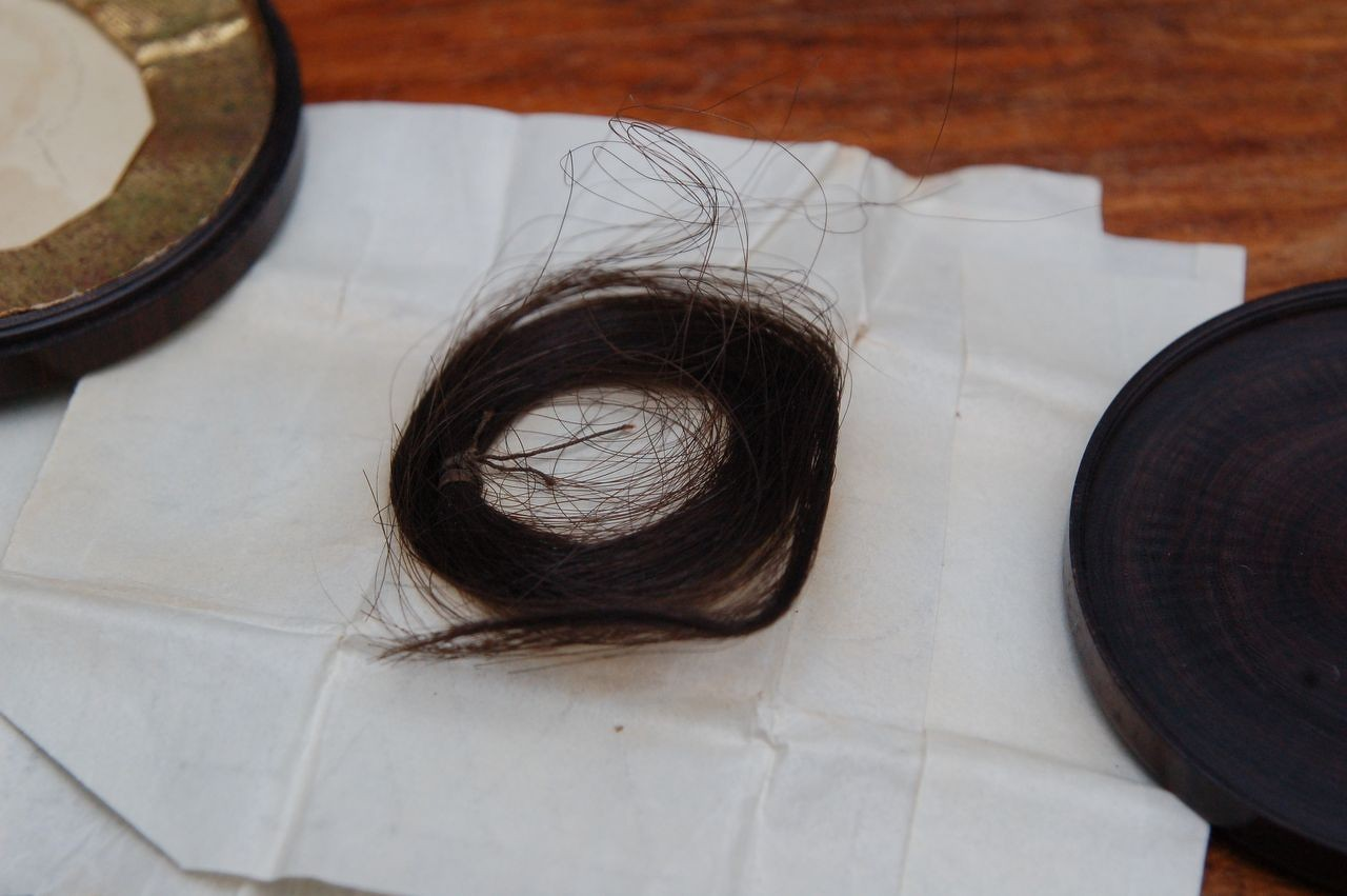 Lock of Anne's hair
