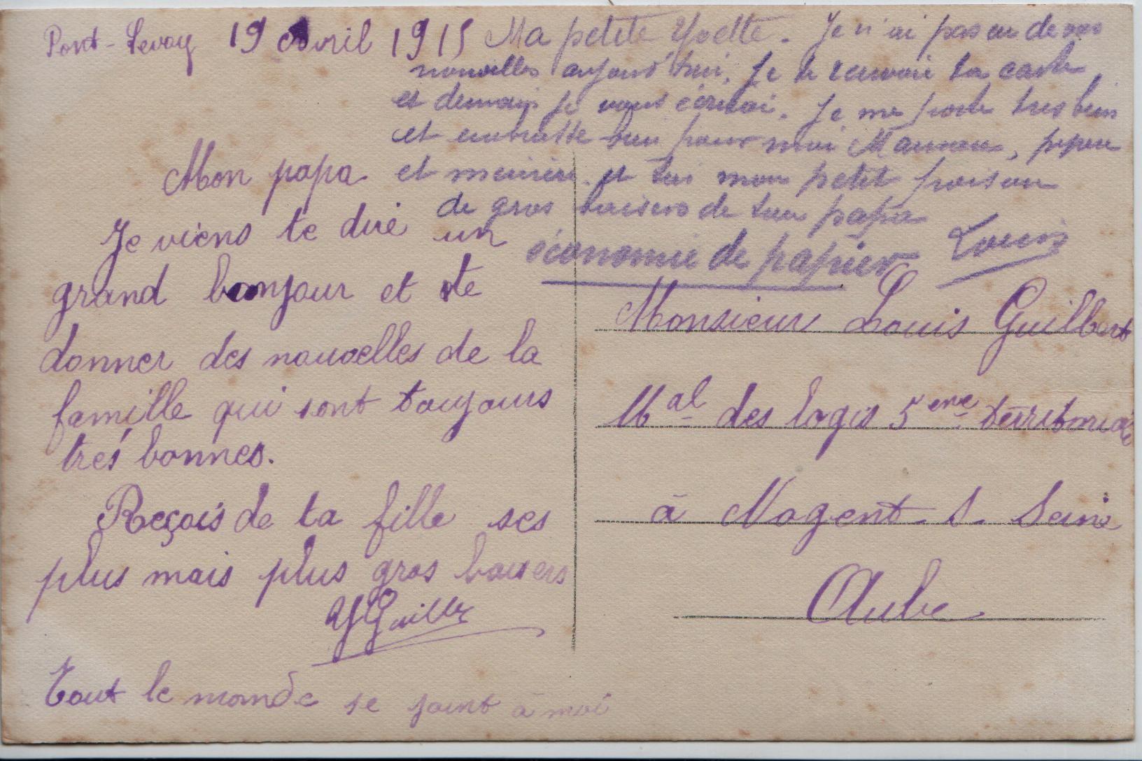 19. Pont-Levoy 19.4.1915