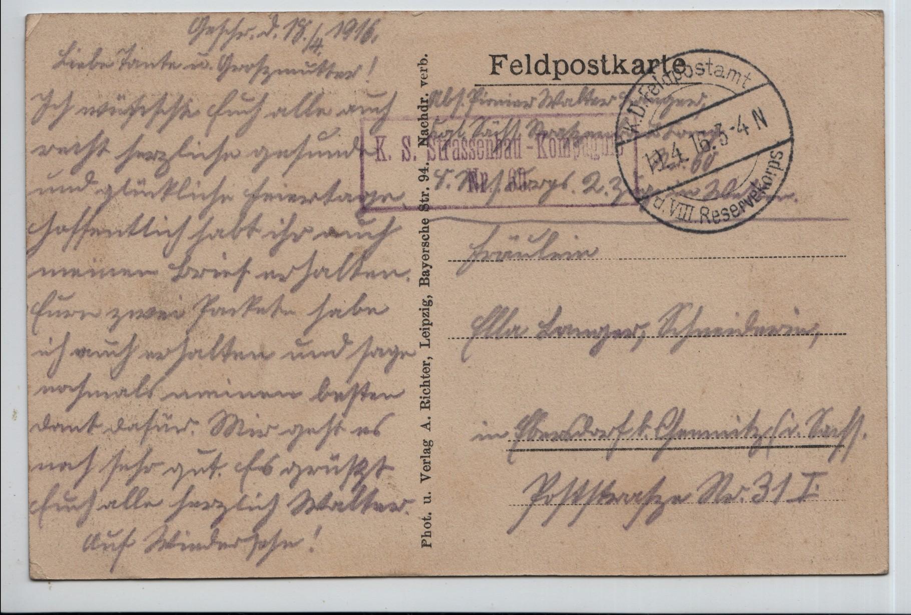 10. 19th Apr 1916