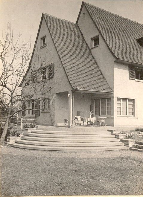 The Darmstadt house in the 1930s