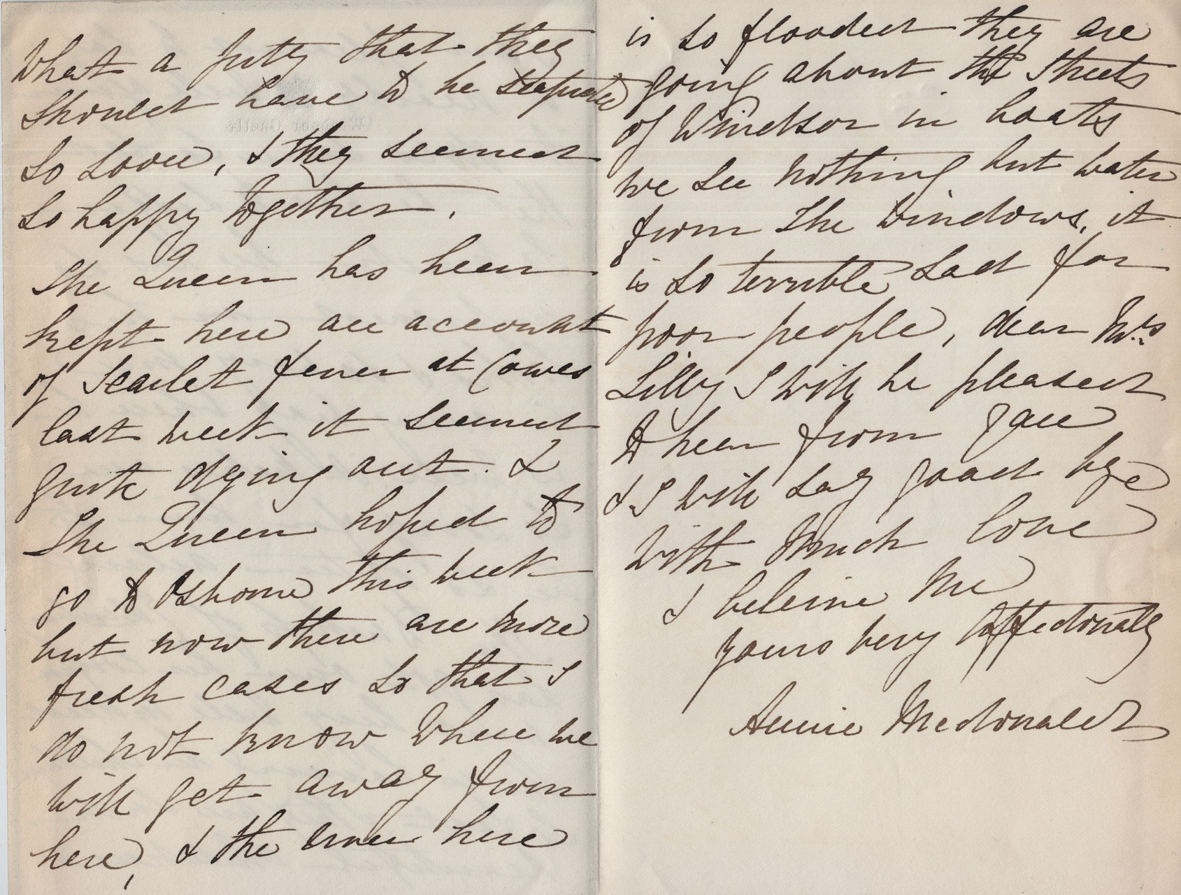 1877 Annie MacDonald to MDL