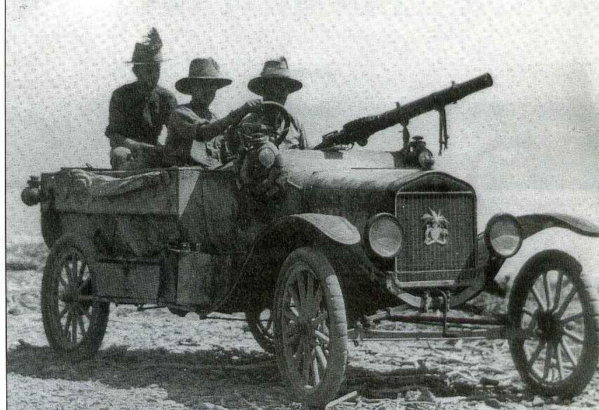 Light armoured car