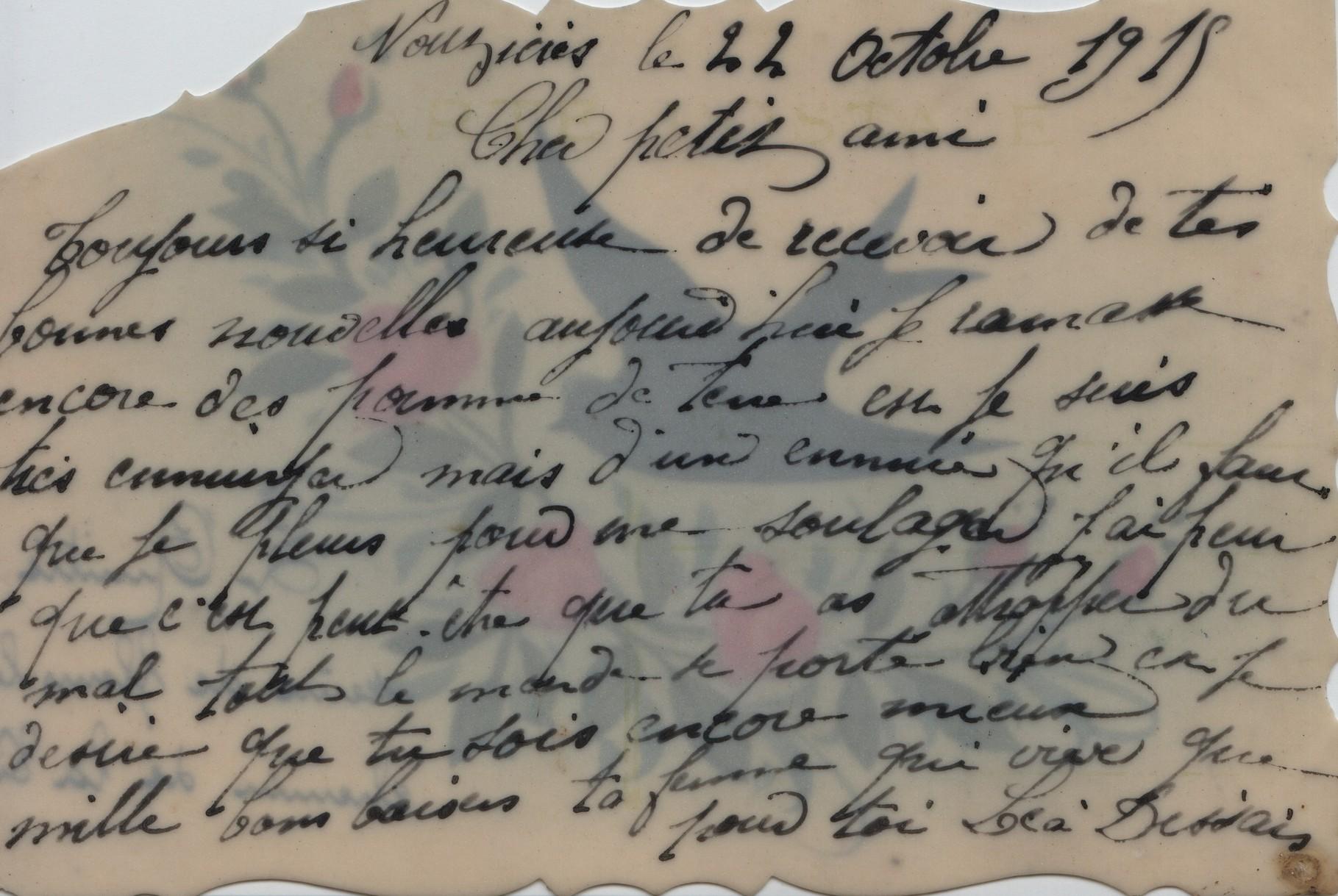 4. Nouzières 22 October 1918