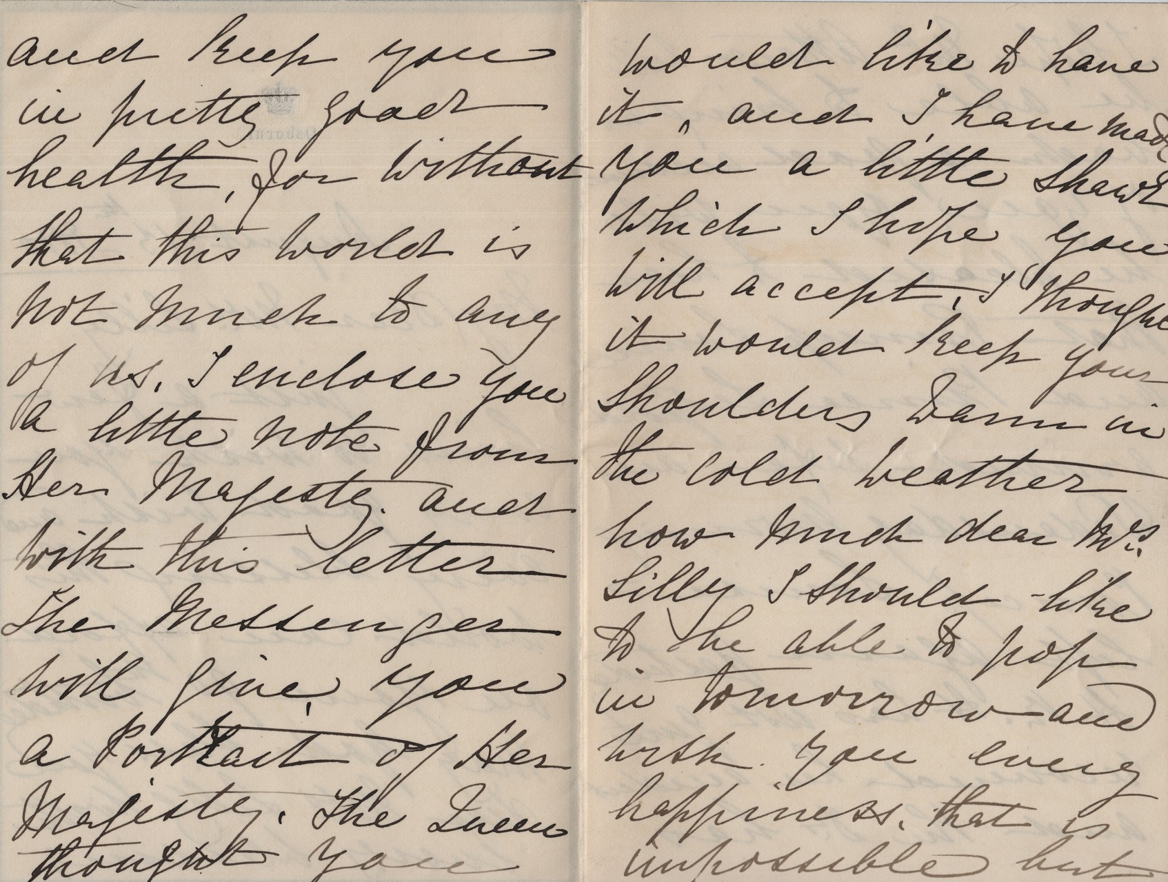 1880 August 13th Annie MacDonald to MDL