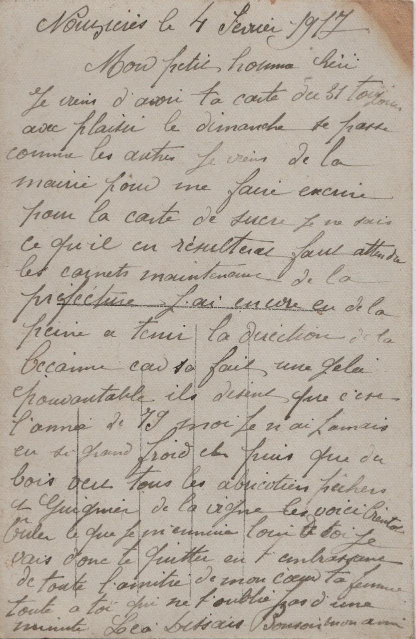 4. Nouzières 8 February 1917