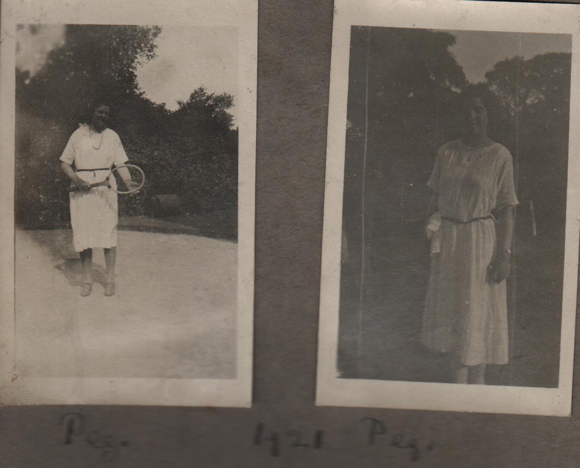 1921: peg, Peg