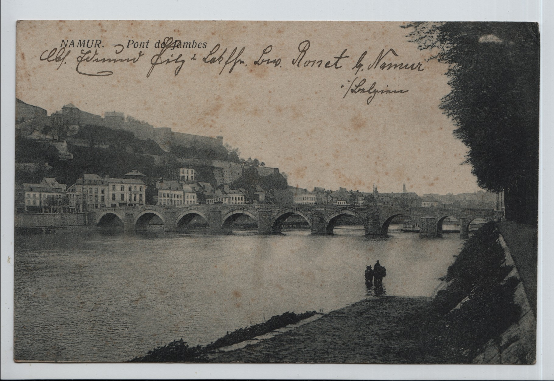 7. Bridge at Namur