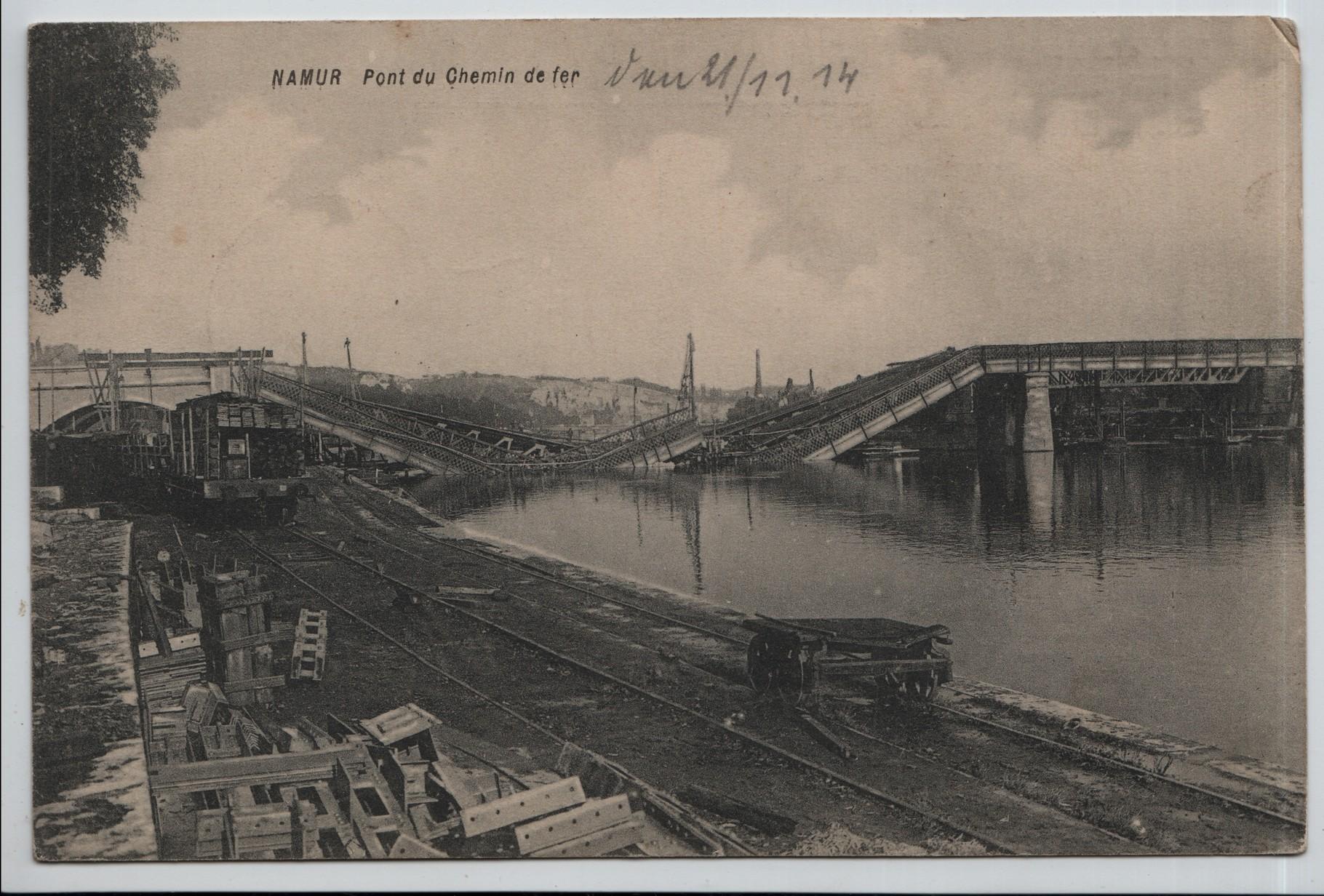 18. Namur railway bridge 21.11.1914