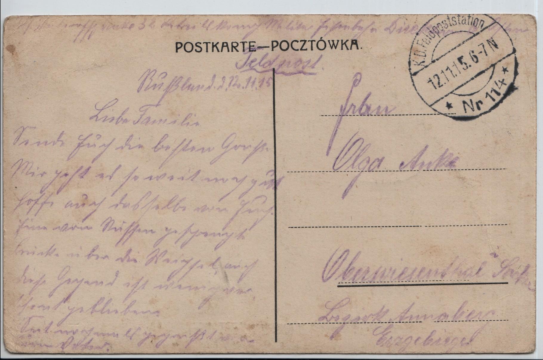 3. 12 Nov 1915