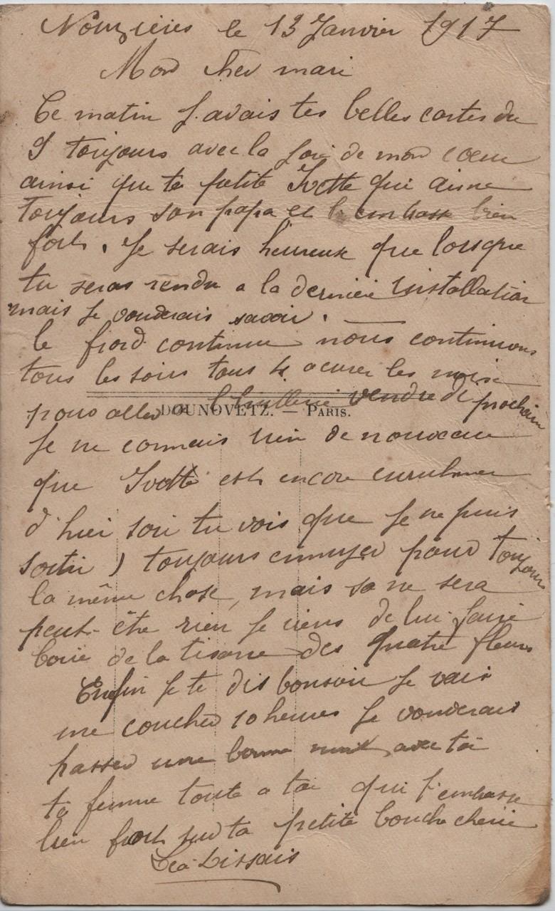 9. Nouzières 13 January 1917