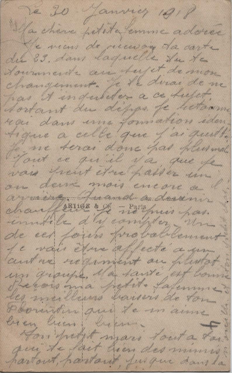 12. 30th January 1918