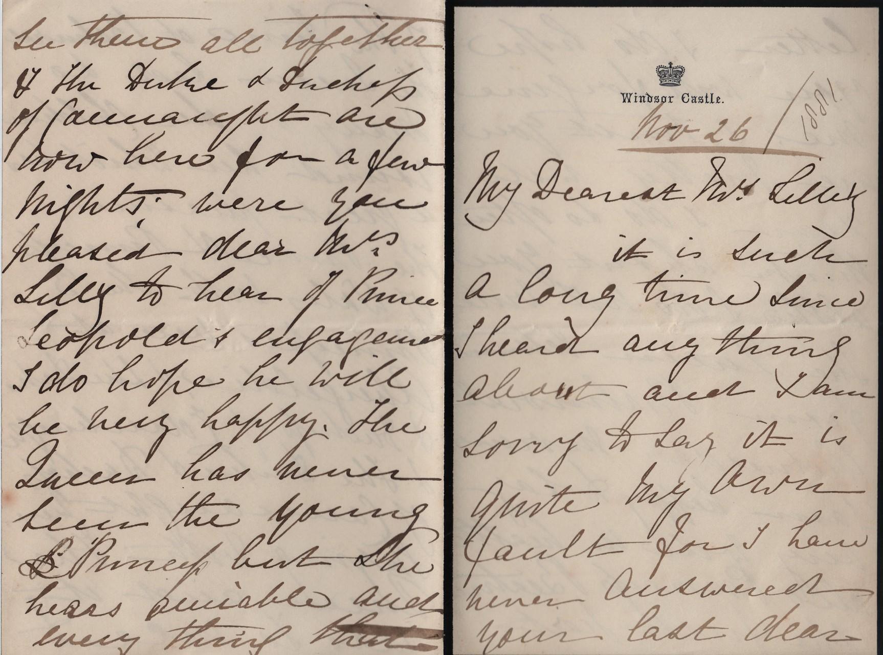 1881 November 26th