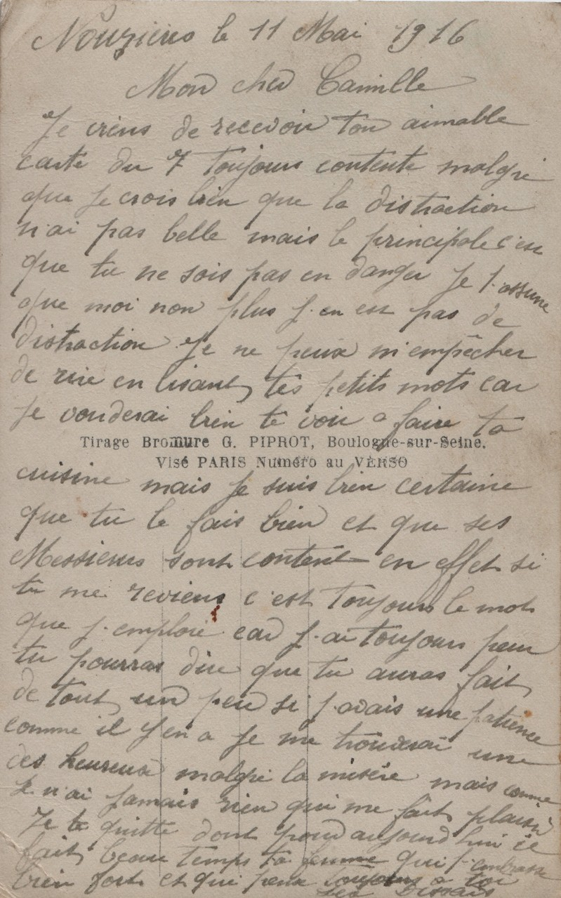 2. Nouzières 11 May 1916