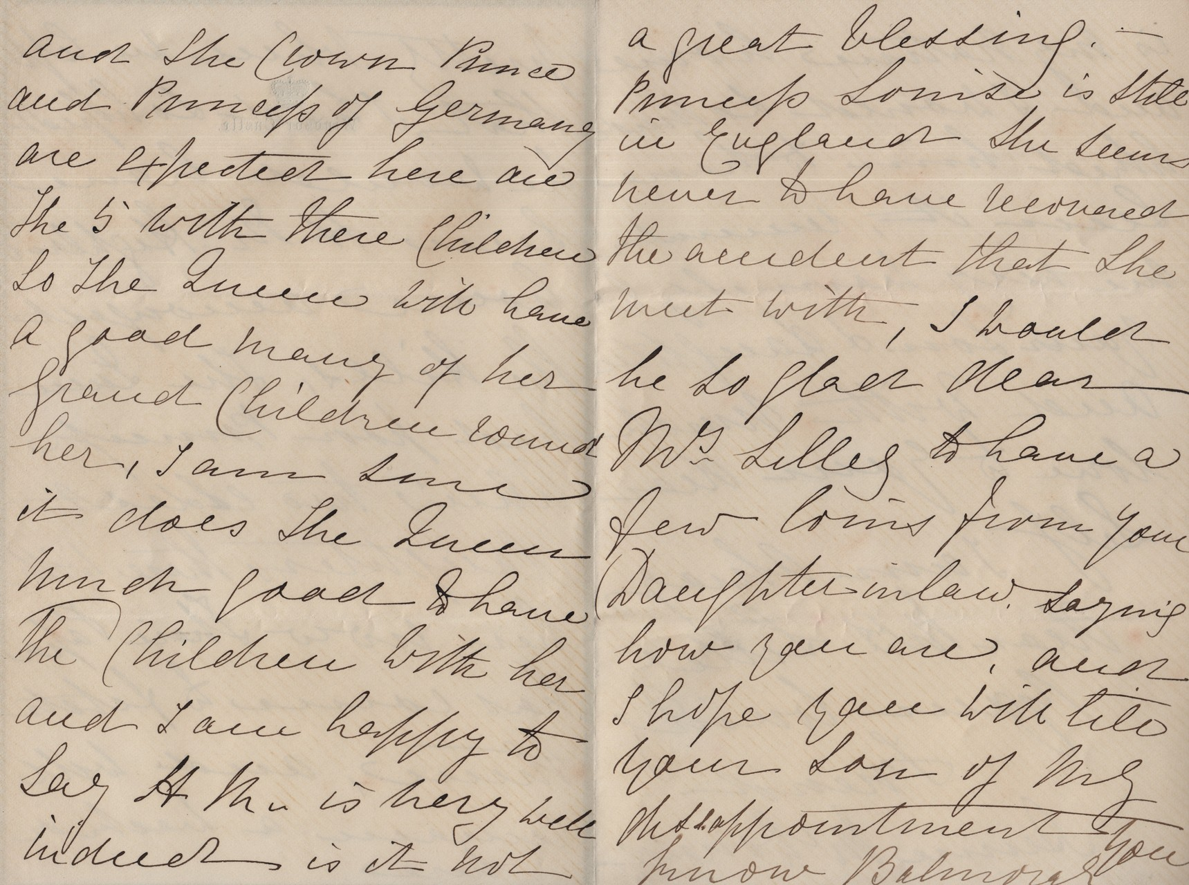 1881 June 26th Annie MacDonald to MDL