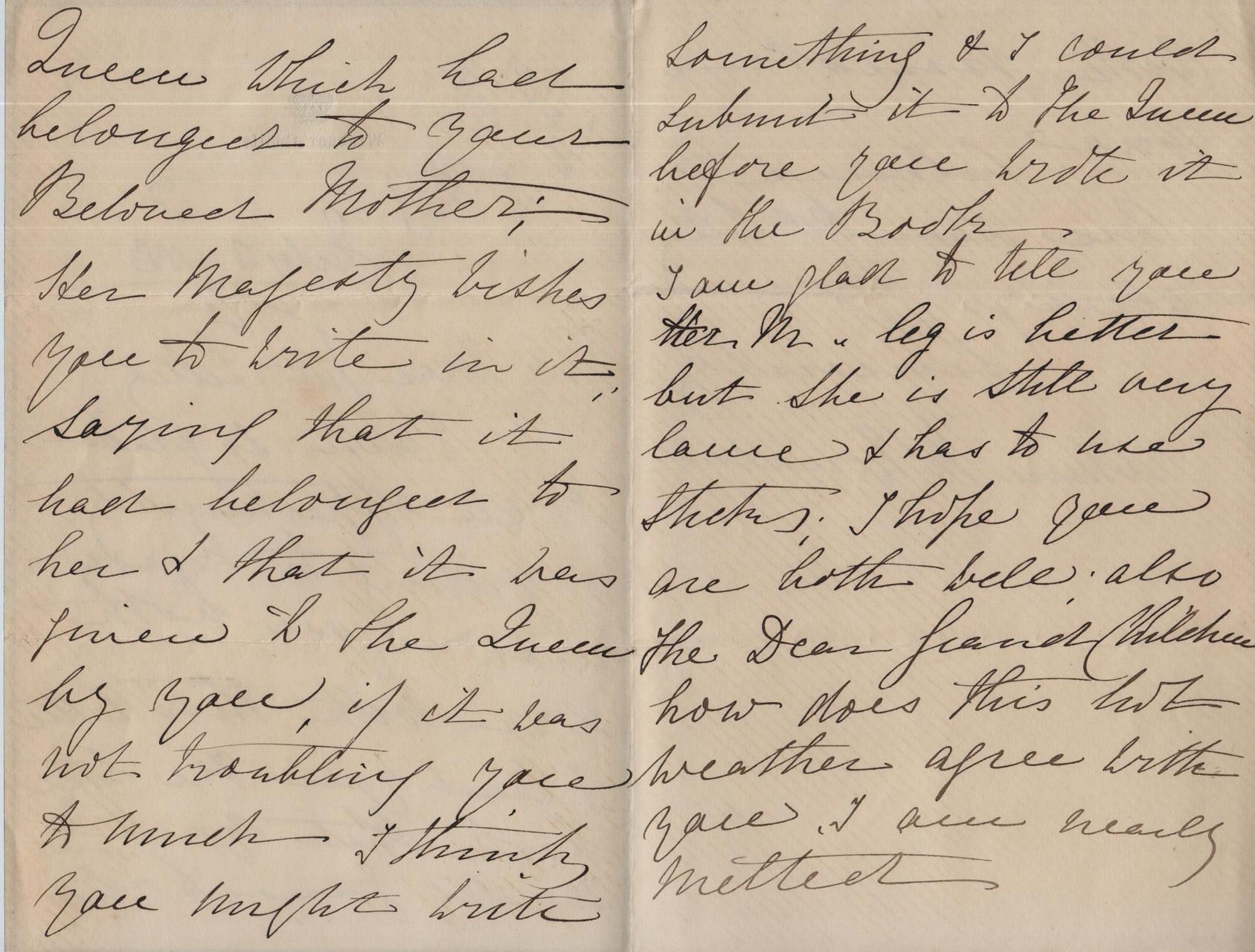 1883 July 3rd AMcD to JHL
