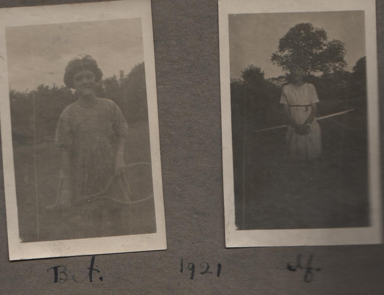 1921: Bet, self
