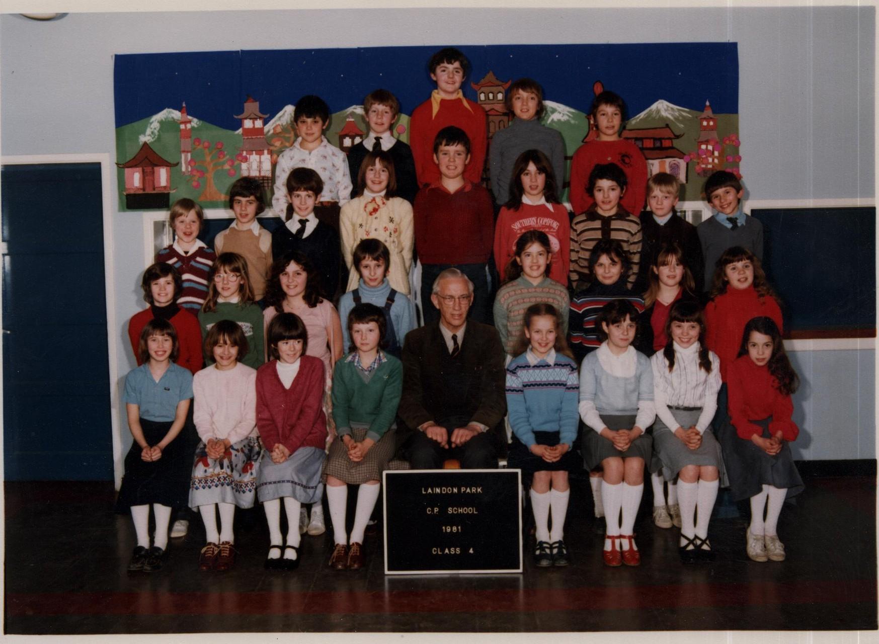 1981 Laindon Park Class 4