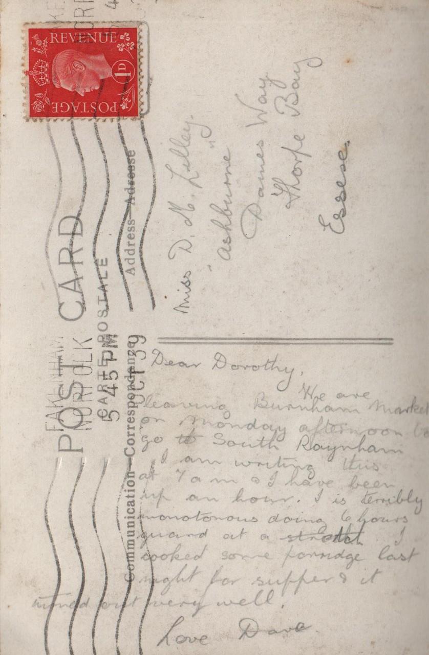 1. October 1939
