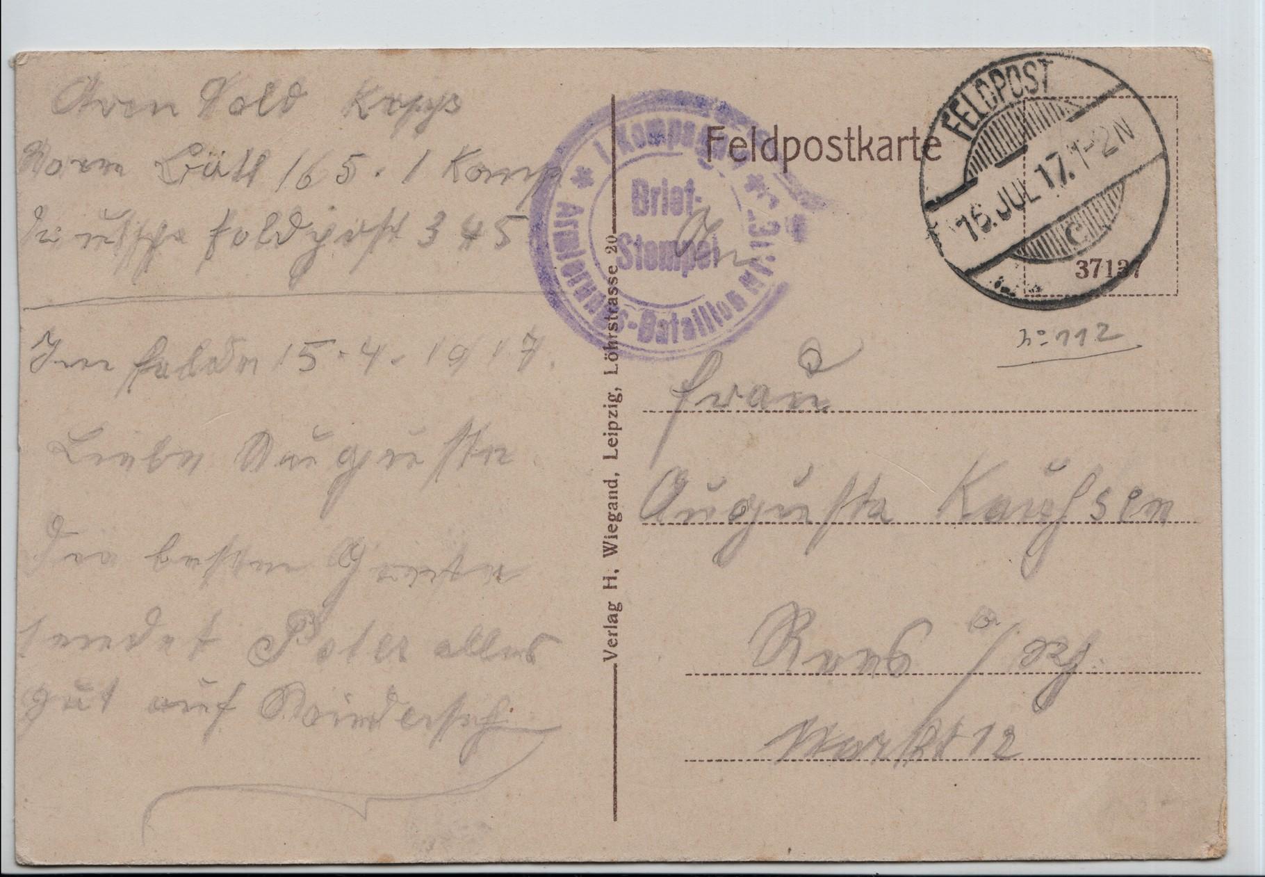 22. 16th Jul 1917