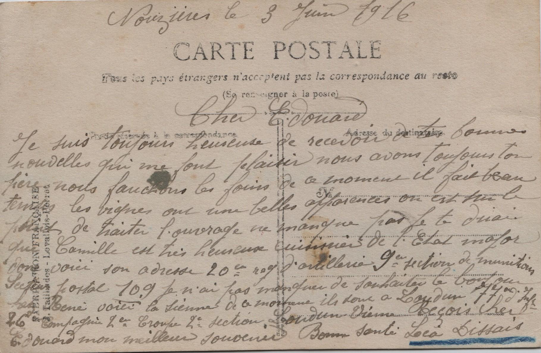 5. Nouzières 3 June 1916
