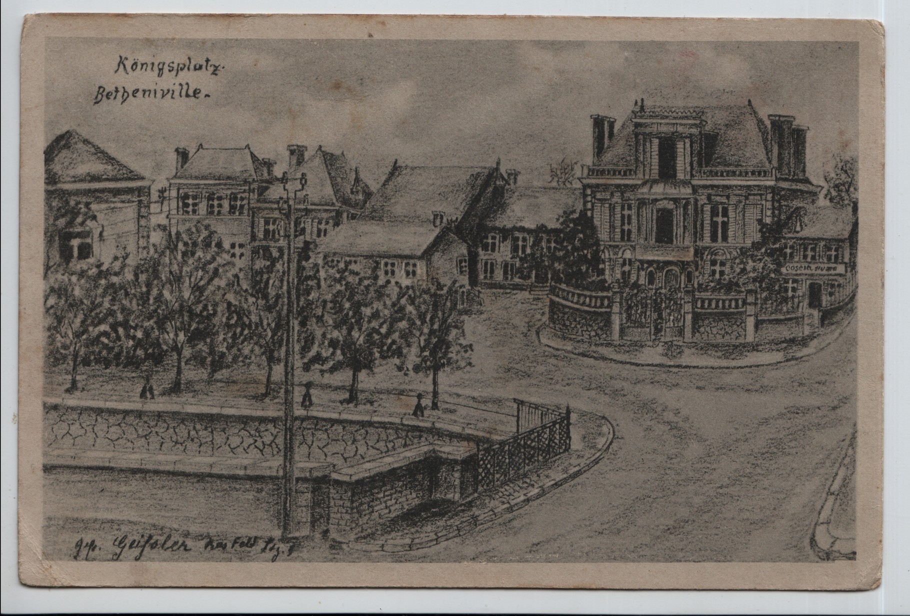 19. Konigsplatz Betheniville