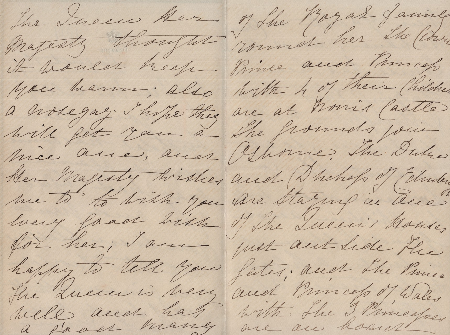 1881 August 13th Annie MacDonald to MDL