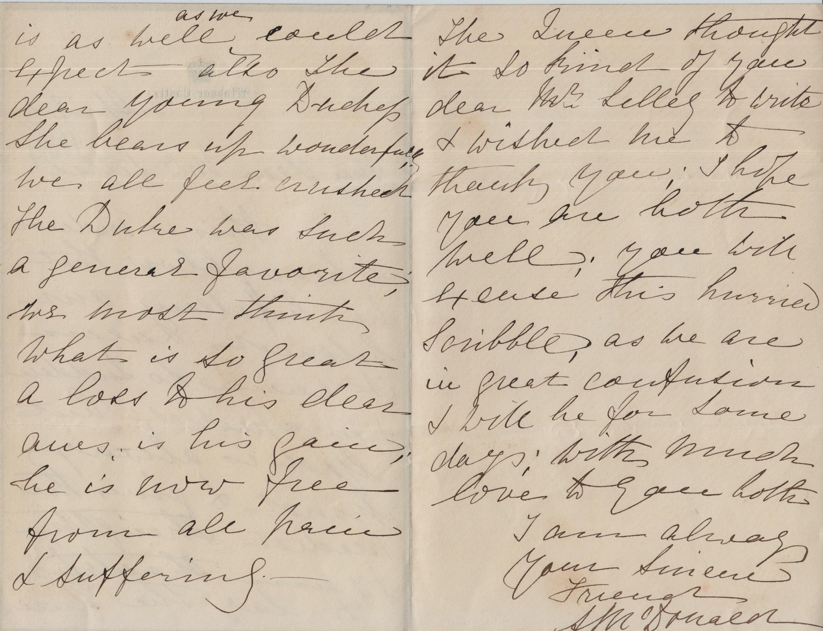 1884 April 3rd AMcD to JHL