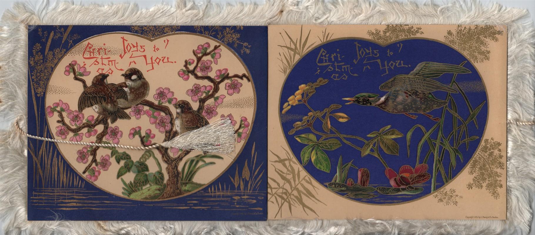 Christmas Card 1880