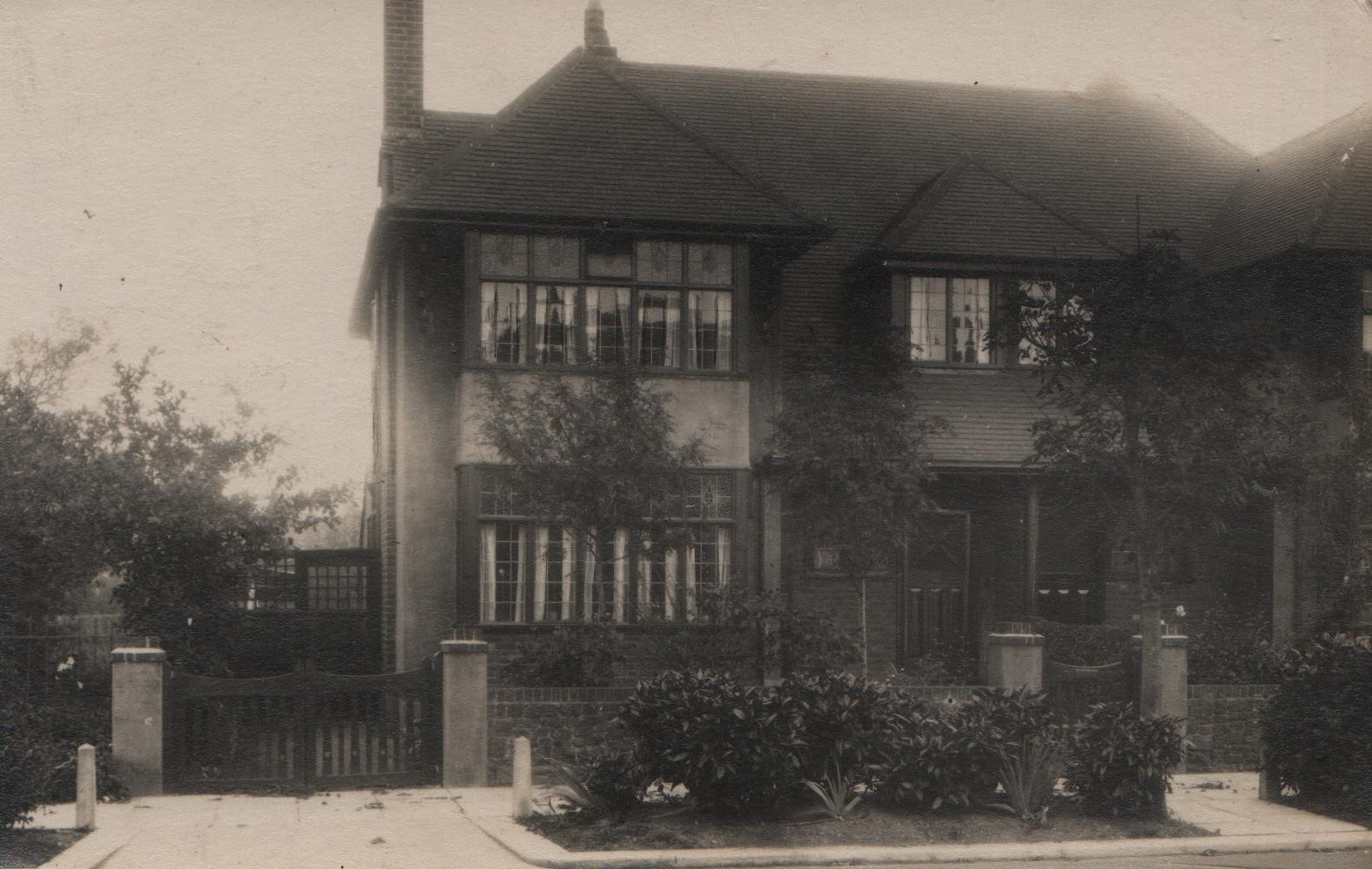 Ashburne, Daines Way, Thorpe - the family home from circa 1925