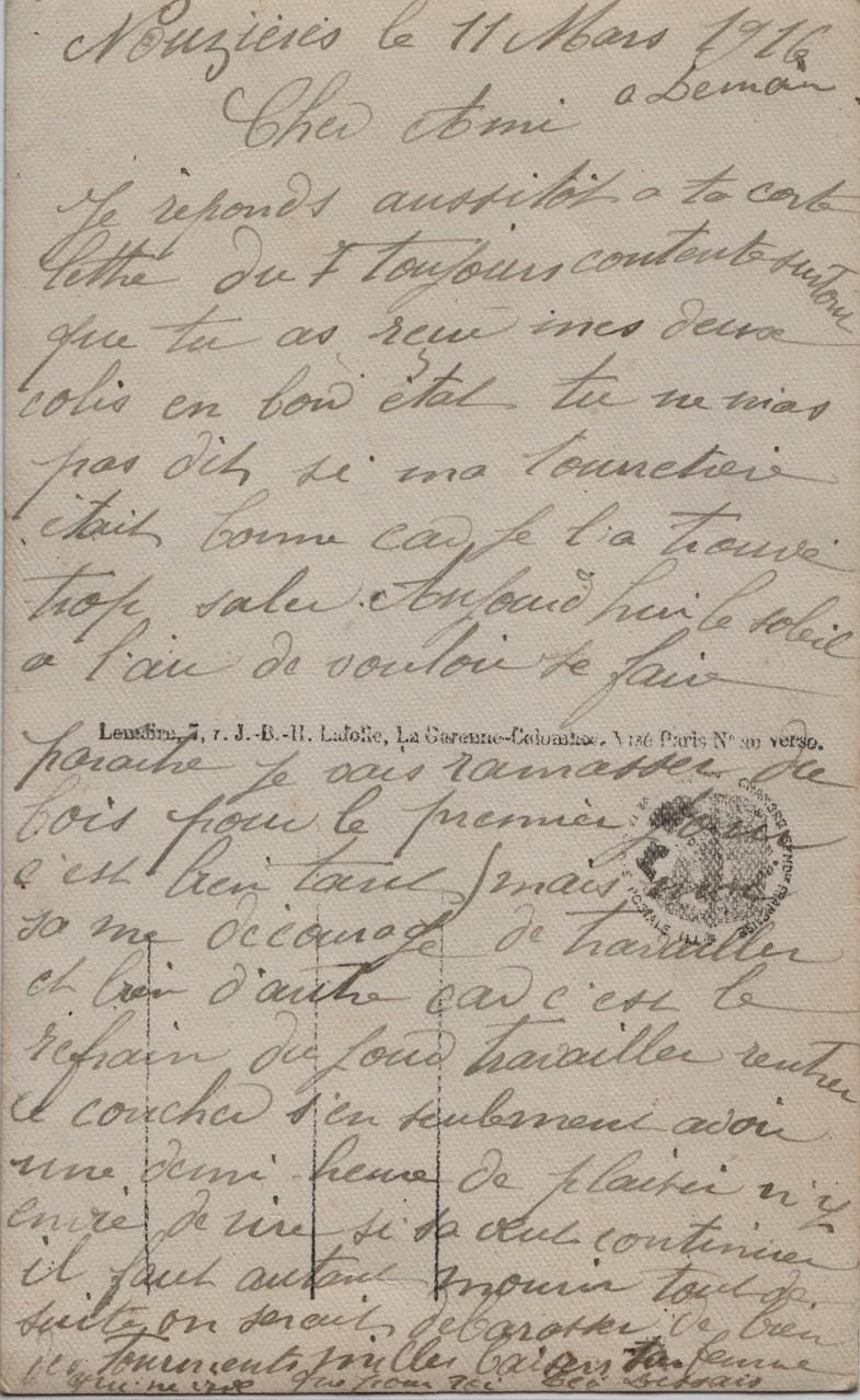 2. Nouzières 11 Mars 1916