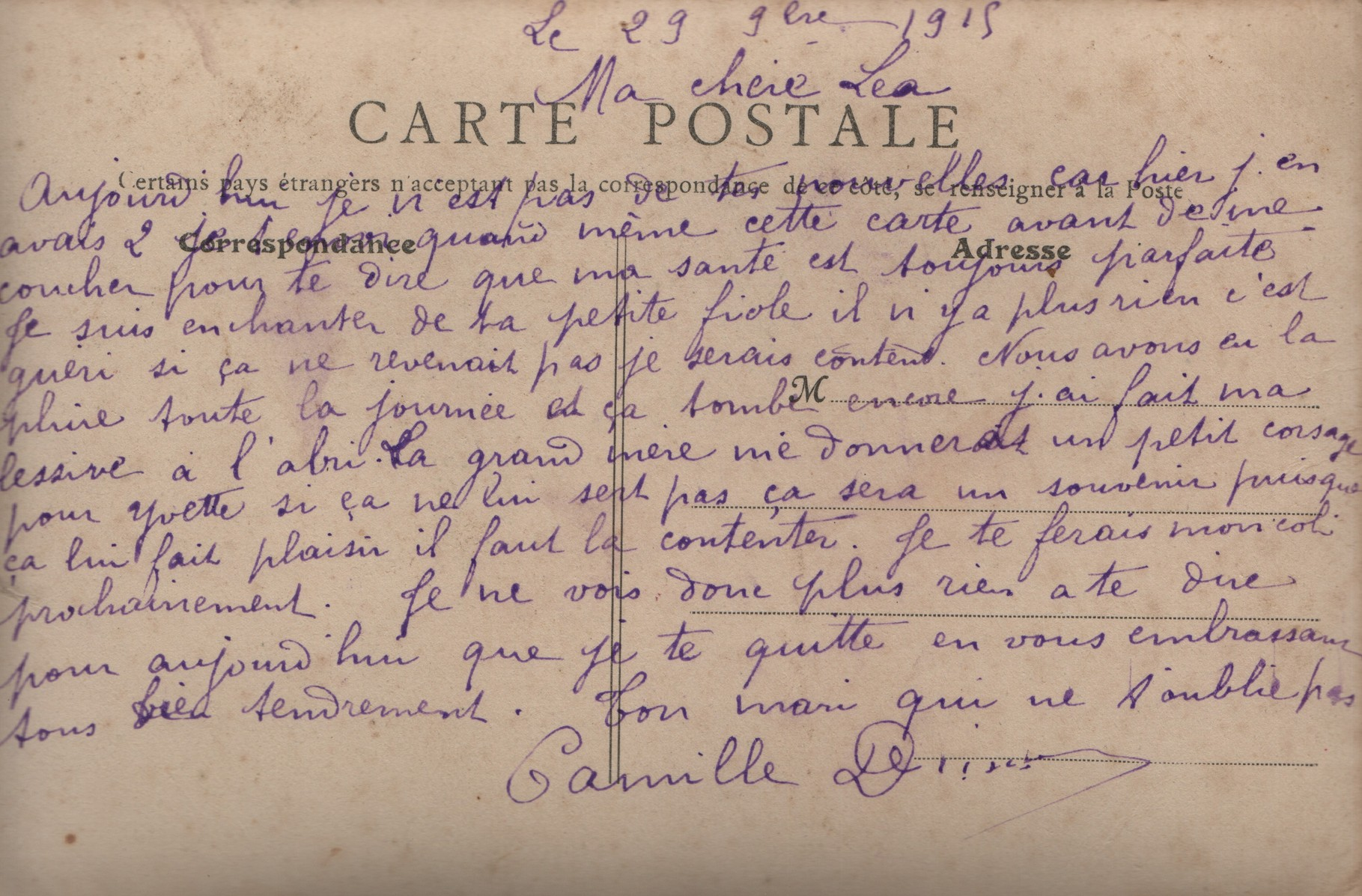 18. 29th September 1915