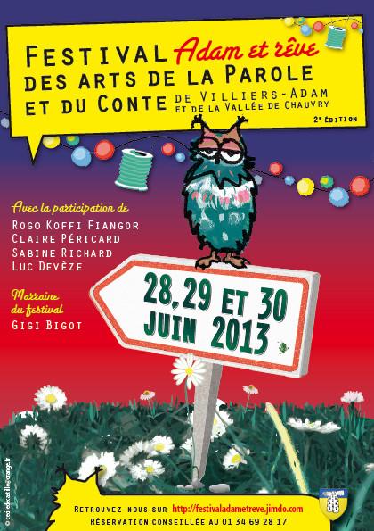 Festival des arts de la parole et du conte Villiers Adam Sanguines