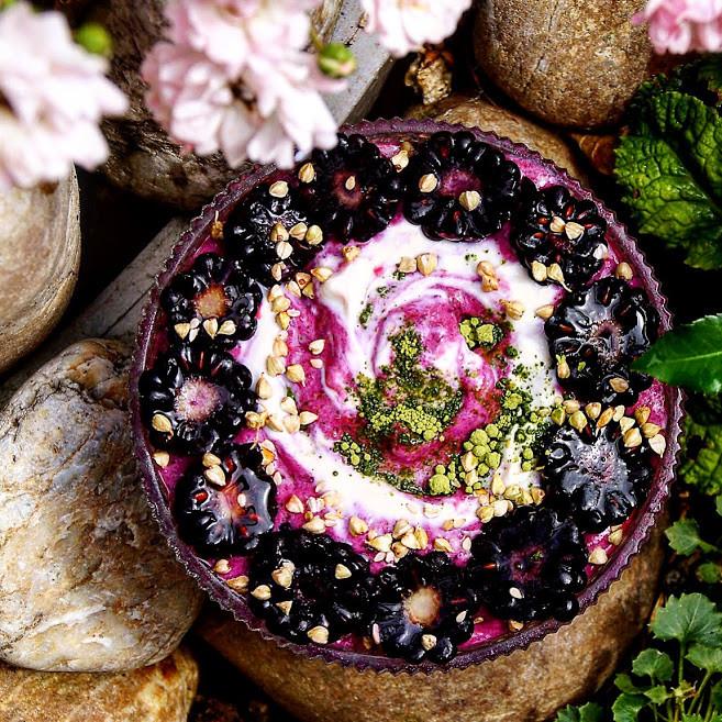 Berry Joghurt mit Vanille - Erdbeere