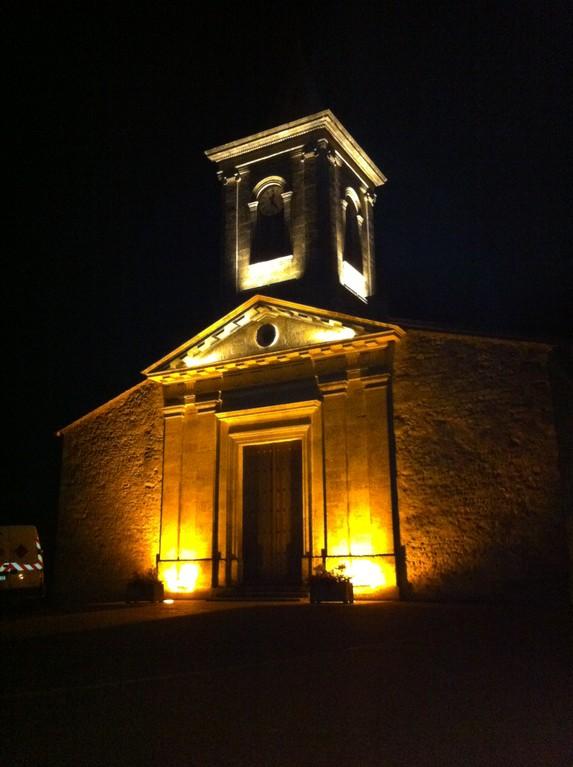 eclairage église de Vensac