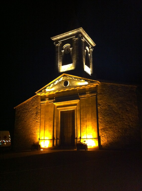 Mise en lumiere église de Vensac I LED