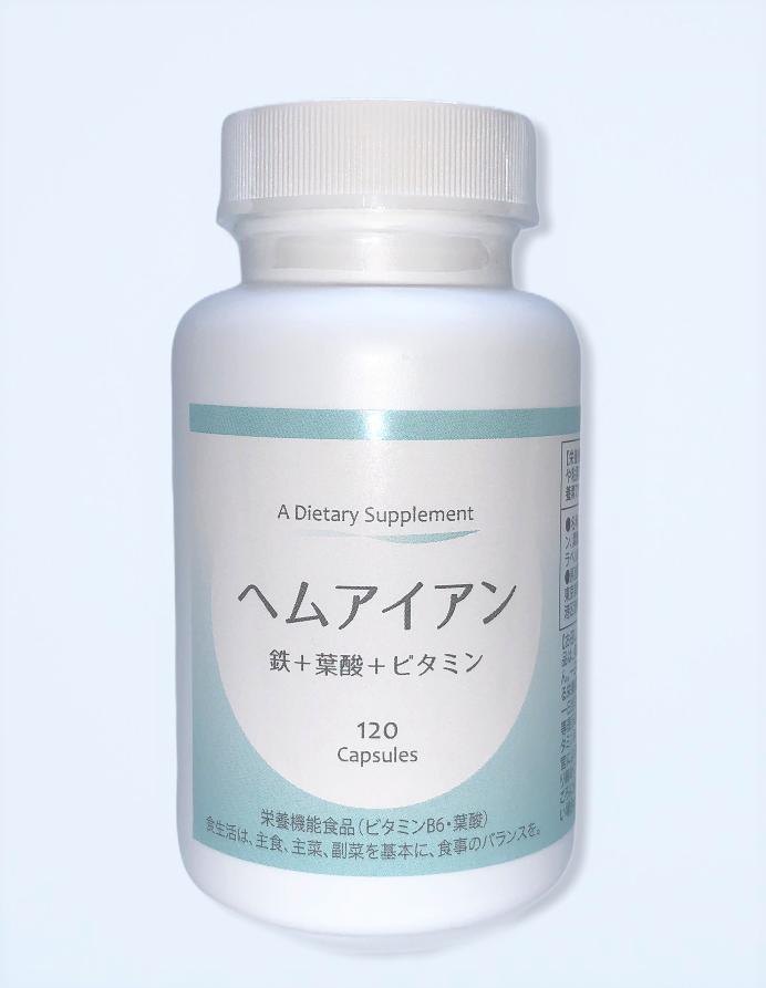 鉄+葉酸+ビタミン配合