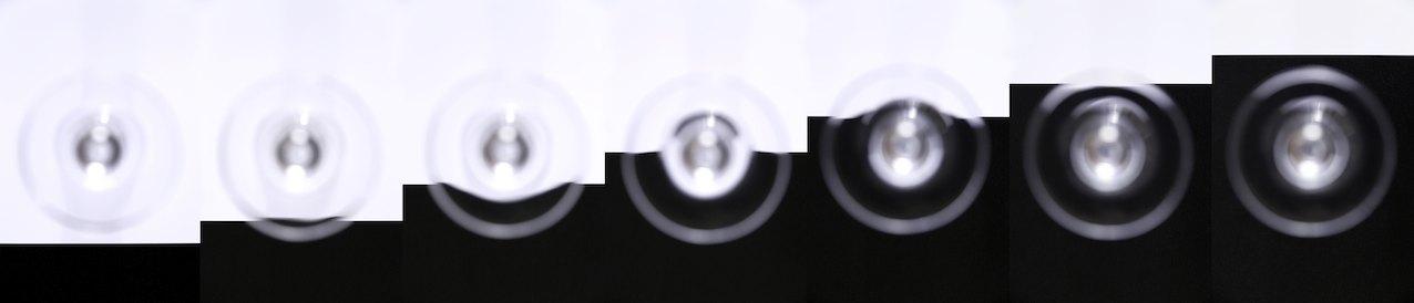 """Graduation 1"" , Lambda C-printon on Alu-Dipond behind acrylic glas,  Ed 10 + 2AP , 200x37 cm , 1994/2016"