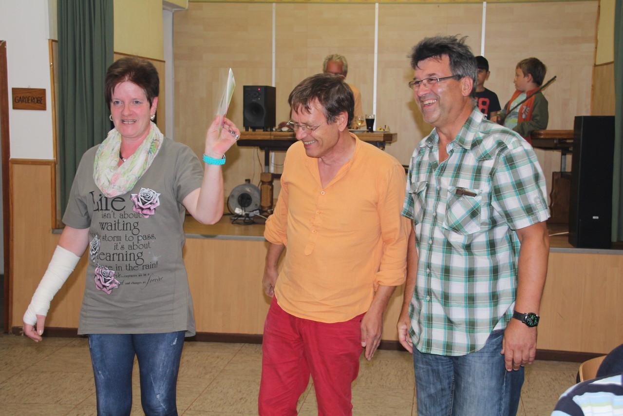 Sieger trotz Behinderung von Manuela Fam. Purlinski