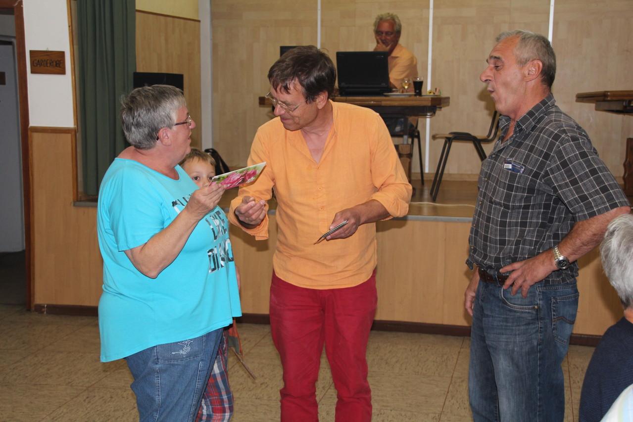 Die letztjährigen Sieger belegten dieses Mal Platz 3 GlücKwunsch Fam. Juric