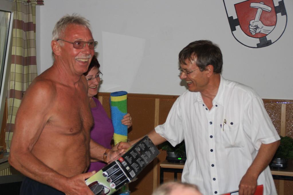 Platz 4  Hanelore und Uwe