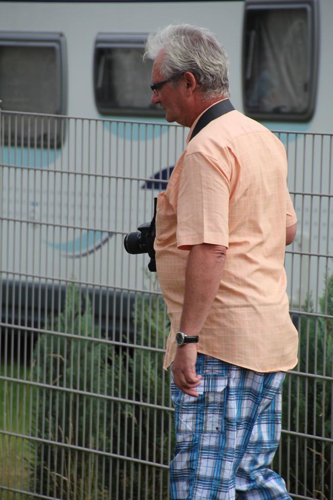 Einer unserer Fotografen, unser Udo