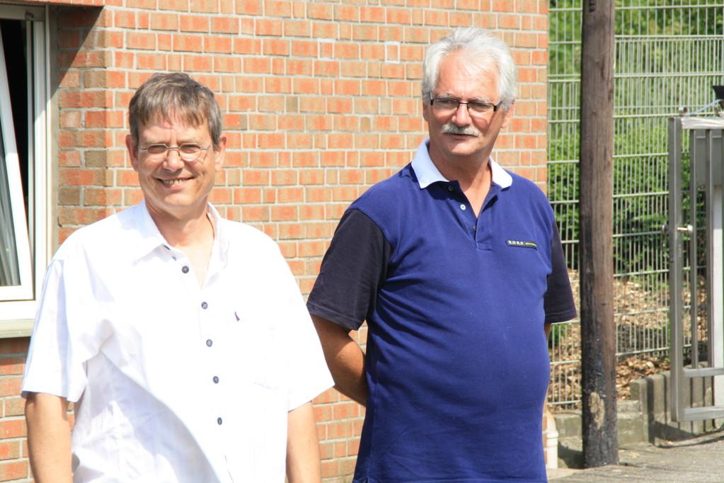Die Organisatoren Klaus und Udo