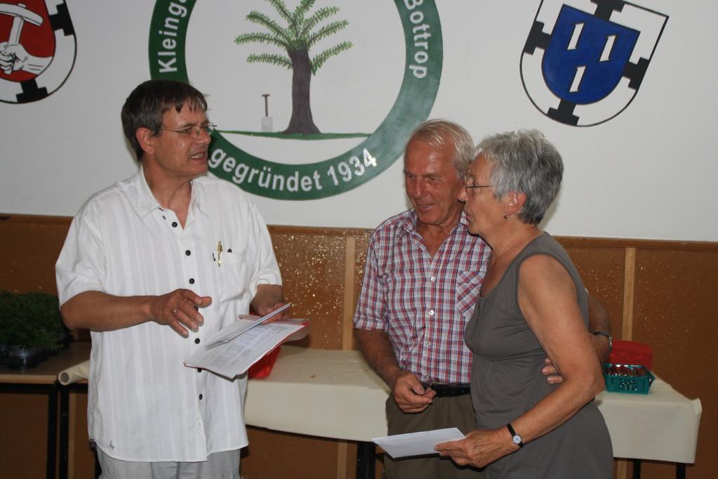 Platz 3 Ursula und Ferdi