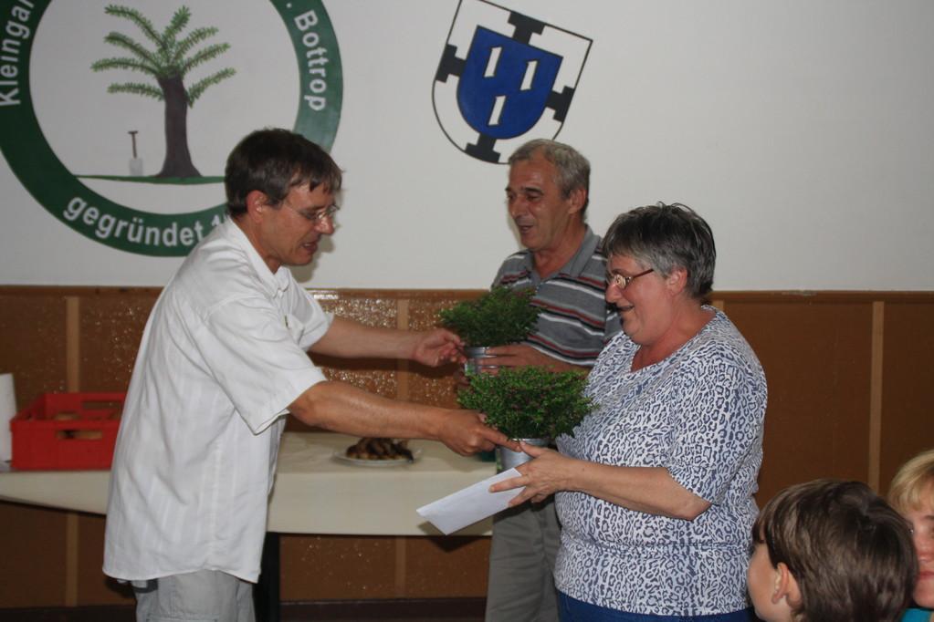Die Sieger Siegrid und Ivica
