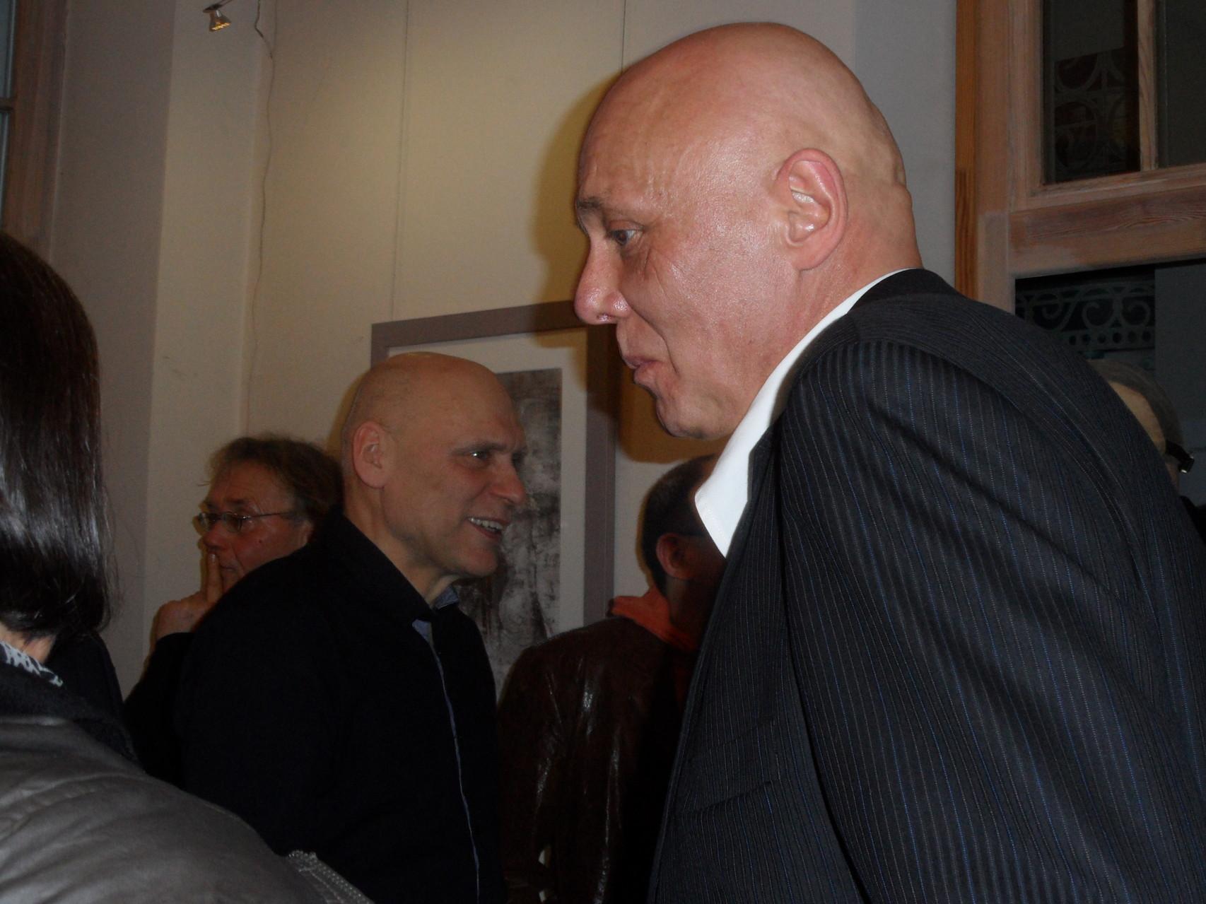 Przemysław Cerebież Tarabicki i Mirosław Gendaj / Galeria111 Szczecin