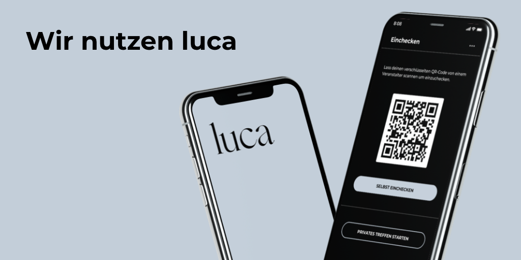 luca App zur Kontaktnachverfolgung