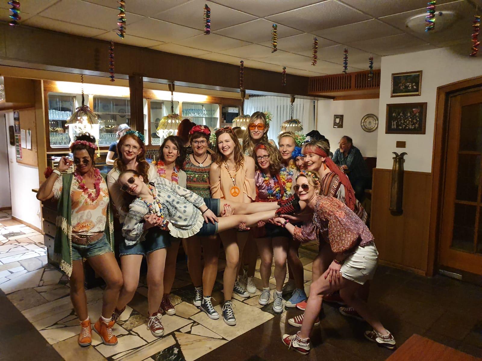Die Tanzgruppe des SC Melle 03